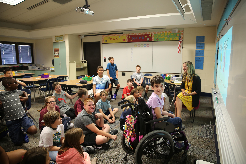Meadow's Edge classroom