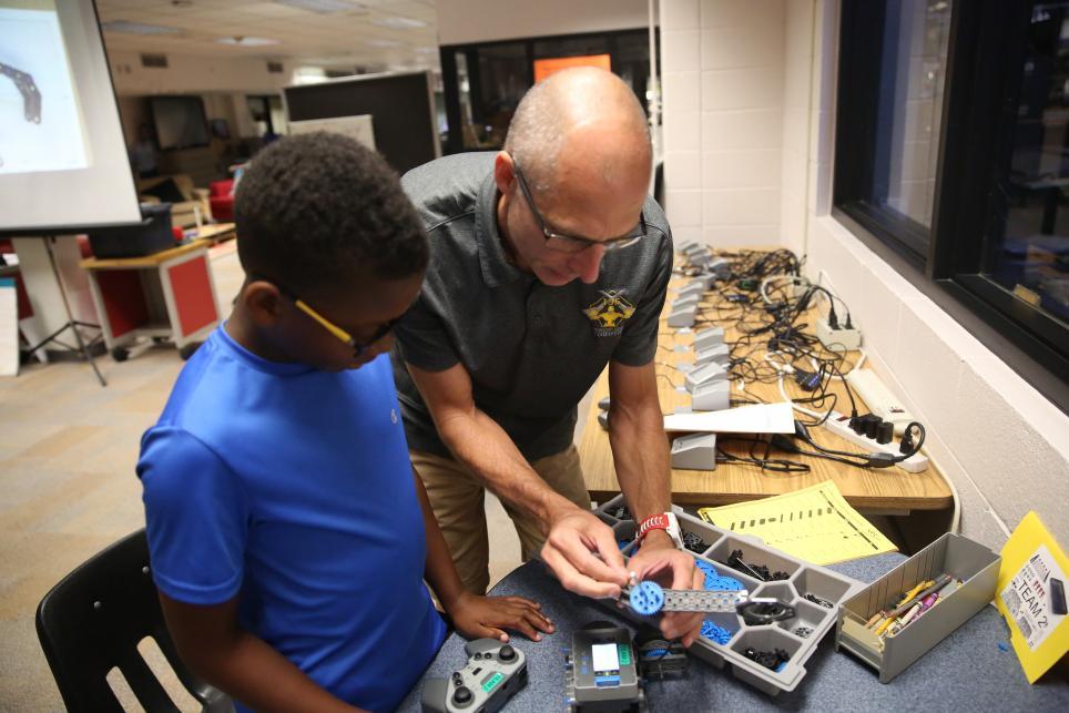 Jr. STEM Winter Workshops