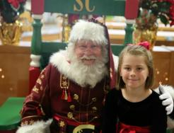 Breakfast with Santa picture from 2016