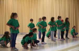 Meadow's Edge dance students perform at P-H-M School Board of Trustees meeting