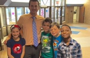 Mr. Snyder and friends